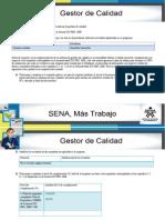 Unidad N°1. Diagnóstico y planificación del sistema de gestión de calidad