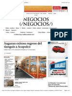 22-03-15 Auguran Exitoso Regreso Del Tianguis a Acapulco - Grupo Milenio