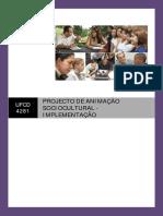 Índice Manual Ufcd 4281 - Projecto de Animação Sociocultural Implementação