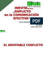 El Inevitable Conflicto en La Comunicacion Efectiva