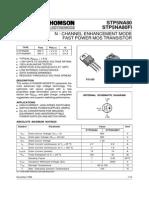 STP5NA80 datasheet