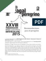 Diptico Cristo Rey 2015