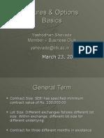 Prest on Basics[F&O]- Yashodhan