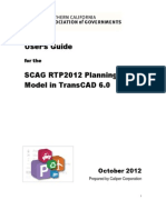 SCAG TransCAD RTP2012 Regional Model Users Guide 2012 v09
