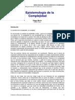 Edgar Morin - La Epistemologia de La Complejidad