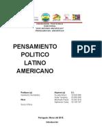 Pensamiento Politico Latinoamericano