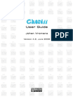 Chordii 4.2 User Guide