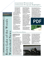Rainy-Lake of the Woods Watershed News
