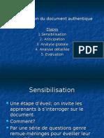 L_exploitation Du Document Authentique