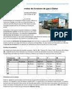 Senegal-logistique.net-Optimisation Des Tournées de Livraison de Gaz à Dakar