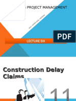 Copy of Const. PM LEVEL 2claconstruction delay claims