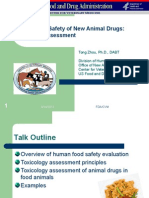 Toxicology Assessment Updated