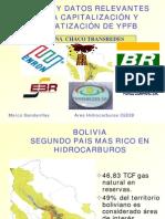 Los Hidrocarburos en Bolivia Cifras y Datos Relevantes de La Capitalización y Privatización de Ypfb Ca2002