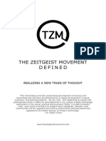 The Zeitgeist Movement -Defined