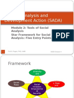 SADA Session 4 Framework