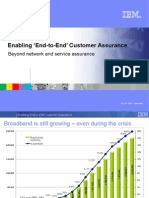 Enabling 'End-to-End' Customer Assurance