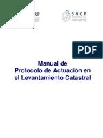 Manual Protocolo Actuacion Levantamiento Catastral