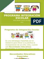 Programa Integración Escolar