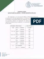 Acuerdo Marco Primer Semestre 2015