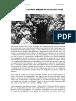 Por Qué Nos Conviene Estudiar La Revolución Rusa. Josep Fontana.