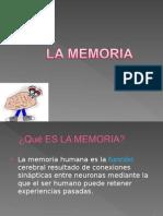 La Memoria Unidad 1