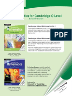 O levels maths intro book