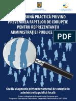 Ghid de Buna Practica Privind Prevenirea Faptelor de Coruptie Pentru Reprezentantii Administratiei Publice Locale