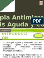 TG13 - Terapia Antimicrobiana en La Colangitis Aguda y Colecistitis[1]