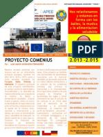 Comenius Revista CEIP Maestro Manuel Aparcero