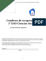Cuadernillo Recuperación 2014 1º ESO