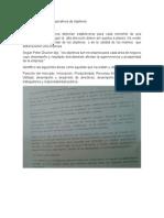 Tipos Conceptuales y Operativos de Objetivos