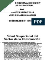 Seguridad Industral e Higiene y Salud Ocupacional Diapositovas Nuevas