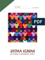 Annual Report Jayma Kunan 2014