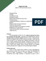 2014-2 DescricaoCursoOrigemDaVida