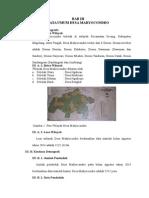 Bab III Data Desa Madyocondro II