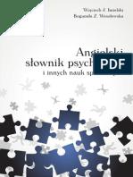 Słownik psychologiczny angielsko-polski