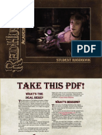 Redhurst Academy of Magic - Student Handbook