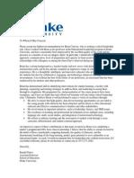 recommendation letter randal peters