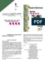 Celebracion de Matrimonio de Tonny - Nelia