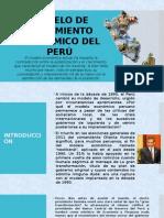 MODELO DE CRECIMIENTO ECONÓMICO DEL PERÚ