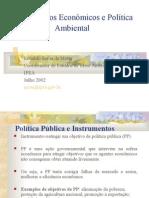 Instrumentos Econômicos e Política Ambiental