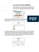 Basic-Explanation for Peltier Effect