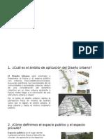 Cuestionario Diseño Urbano