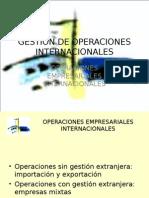 OPERACIONES INTERNACIONALES