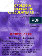 Topologia Retelelor Calculatoarelor