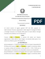 Aiello Vincenzo Ricorso Tar 97 Sentenza 2011 via Garibaldi Bungalow (1)