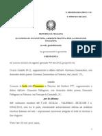 Miramare Orazio Cataldo Cga 18 2014 Tar 1 Sezione 542 2013