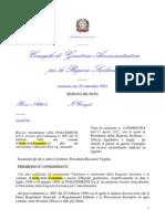 Italcementi Rich Annullo Provv Prg 2667 25 2 99 Deli Cc n 2 3 36 Del 1994 n 67 Del 1995