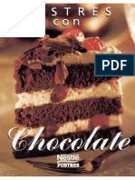 Nestle - Postres Con Chocolate