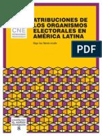 Atribuciones de Los Organismos Electorales en América Latina